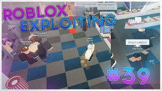 Trolling & Destroying at Sizzleburgers I ROBLOX Exploiting #39