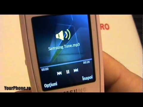 Samsung 3550 Review - in Romana