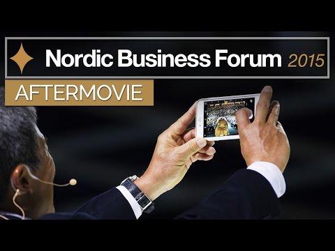 Nordic Business Forum 2015 [AFTERMOVIE]