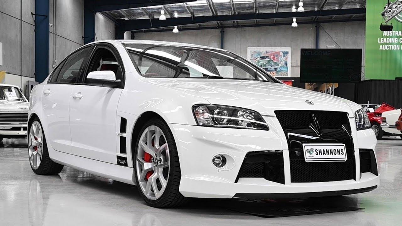 2009 HSV W427 E Series Sedan - 2019 Shannons Melbourne Summer Classic Auction