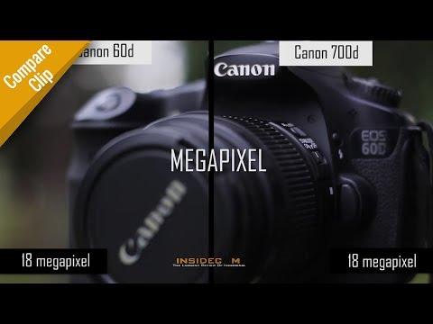 Canon 60D vs Canon 700D - Compare Clip