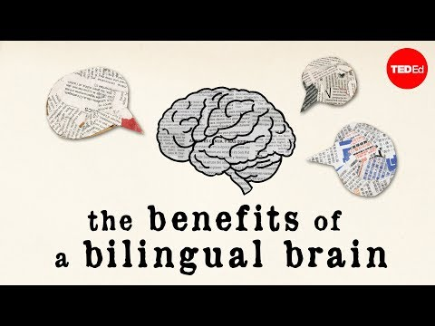 The benefits of a bilingual brain - Mia Nacamulli - YouTube