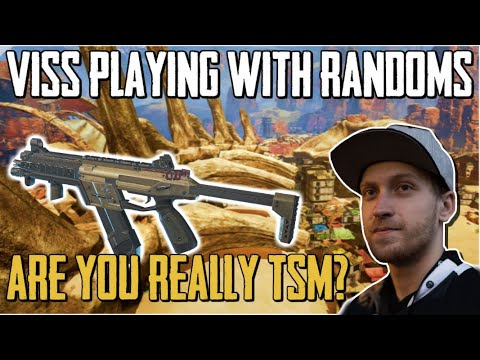 "Viss Playing With Randoms ""Are you on TSM?"" Apex Legends"