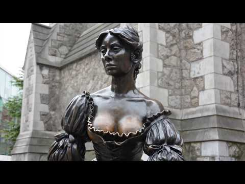 Molly Malone Statue, Song, and Legend-Dublin, Ireland