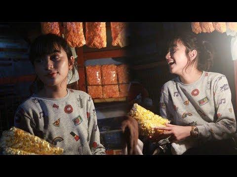 Viral Gadis Cantik di Lapak Jual Popcorn hingga Diajak Foto Pembeli, Begini Kisah di Baliknya