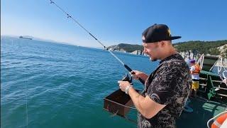 Морская рыбалка Голубая бухта Катер Парус Глушаевы