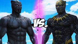BLACK PANTHER VS KILLMONGER - EPIC BATTLE