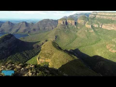 Flying in Blyde River Canyon (South Africa)