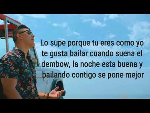 Joey Montana - Suena el Dembow (letra) ft Sebastian Yatra