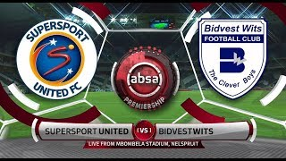 Absa Premiership 2018/19 | SuperSport United vs Bidvest Wits