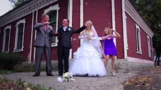 Свадебный клип видео невеста и жених прогулка Чашники  Лепель Новолукомль