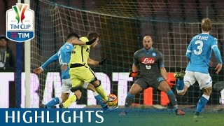 Napoli - Inter - 0-2 - Highlights - Quarti di finale - TIM Cup 2015/16