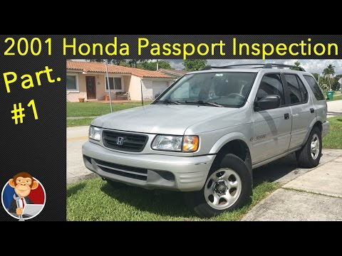2001 Honda Passport Inspection & Diagnosis - EGM Diagnosis #1
