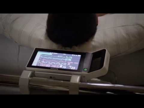 Philips IntelliVue X3 transport patient monitor