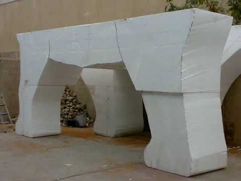 foam & cement carvings.wmv