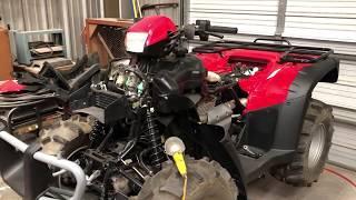Honda Foreman 500 Es Shift Problem Easy Fix!