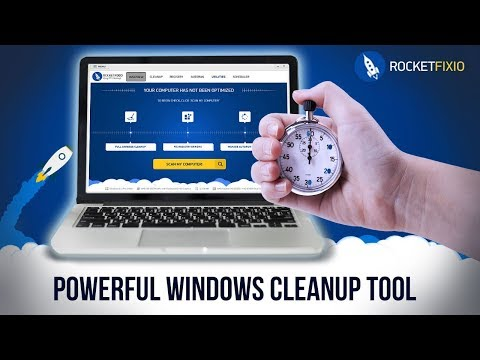 ?? Powerful Windows Cleanup Tool: Optimize Your PC with RocketFixio