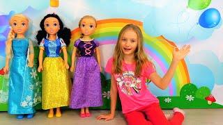 Vestidos para princesas. Una historia divertida para chicas.