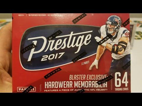 2017 Panini Prestige Football Retail Blaster Box