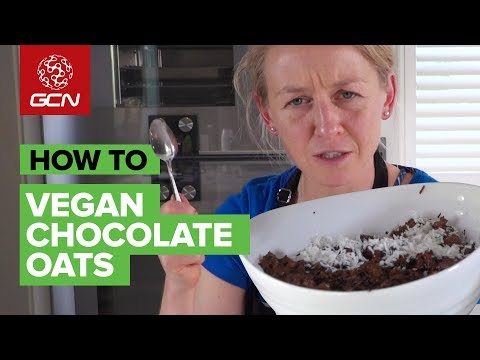 Protein Chocolate Coconut Oats | Vegan Cycling Fuel