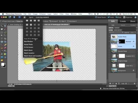 New Features In Photoshop Elements 9: Out-of-Bounds Photo (Part 2)