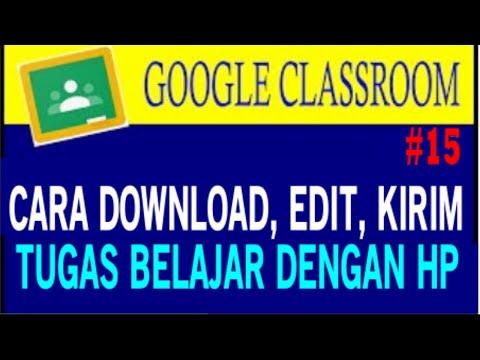 50+ Cara Download Tugas Di Google Classroom paling mudah