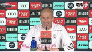 Rueda de prensa de ZIDANE previa CLASICO Real Madrid - Barcelona (09/04/2021) #RealMadridBarcelona