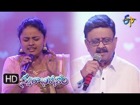 Priyatama Song   SP Balu, Naga Priya Performance   Swarabhishekam   09September 2018   ETV Telugu