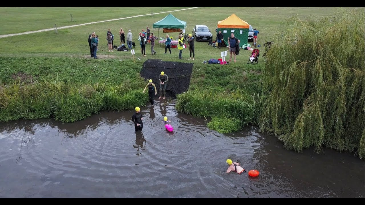 MUDLARKS CHARITY RIVER SWIM 2018