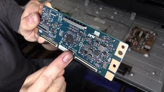 Trying to Fix Samsung LED LCD TV Black Screen