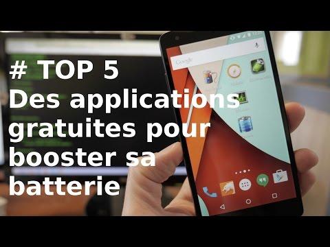 [TOP 5] Applications Android gratuites pour booster sa batterie