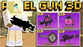 PIXEL GUN 3D 15.99 UPDATE - NEW LOVE WEAPONS VALENTINES DAY UPDATE | Pixel Gun 3D