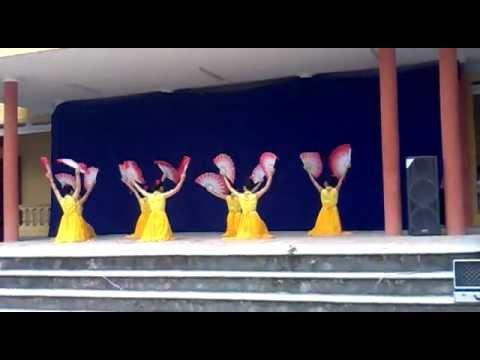 múa như ý cát tường -i love12h-THPT Chí Linh