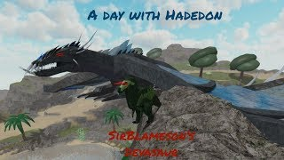 A day with Hadedon (SirBlameson Devasaur) (Roblox Ancient Earth)
