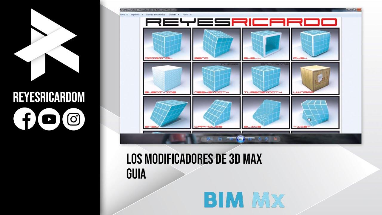Modificadores 3d max guia rapida youtube for Sillas para 3d max