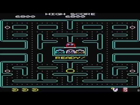ARCADE HACK PACMAN PLUS PAC MAN PLUS + VECTOR FROM HACKY PAC BY DAVID WIDEL IN 2001