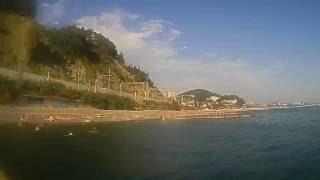 Сочи Дагомыс 2016 07 городской пляж рыбалка(, 2016-07-19T11:13:38.000Z)