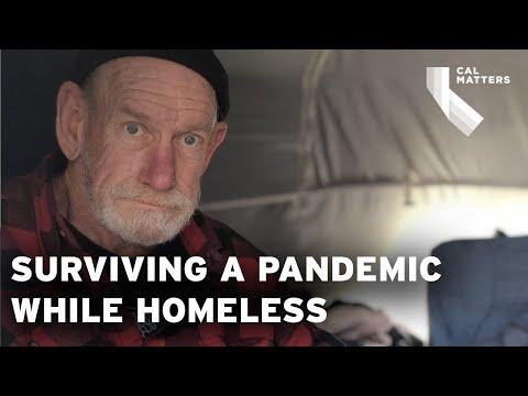 Homeless in California during the coronavirus pandemic