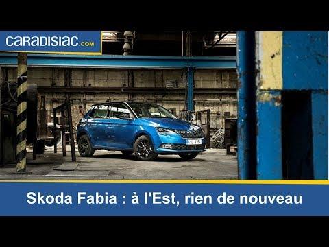 Essai - Skoda Fabia (2018) : à L'Est, Rien De Nouveau
