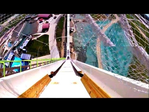 Delayed Opening of World's Tallest Water Slide