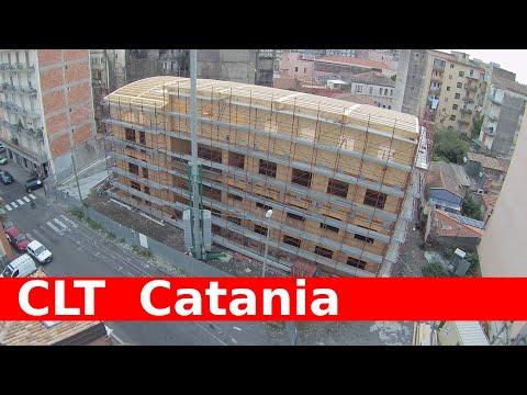 multi-storey CLT Catania Italy