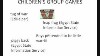 Ancient Egyptian Toys And Games