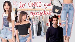 BÁSICOS VERANO 2020 *lo ÚNICO que NECESITAS!!* ropa, series, películas @lucianawong