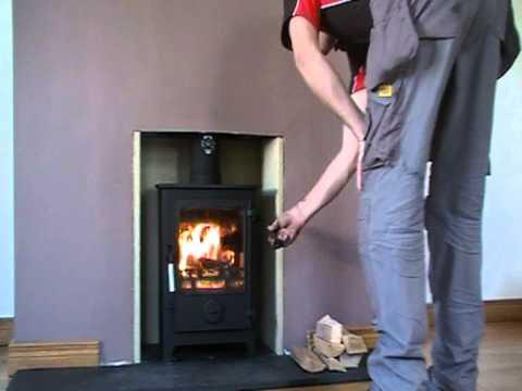 Dean Forge Dartmoor 5kw Multi Fuel Stove Youtube
