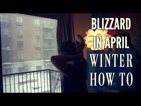 How to Spend a Snow Day | Minneapolis Spring Blizzard 2018 | 1080P HD