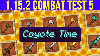 Minecraft 1.15.2 Combat Test Snapshot 5 : Saturation Nerfed & Crazy Coyote Time