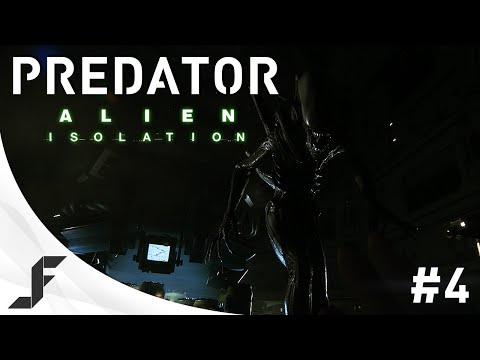 Alien Isolation Walkthrough Part 4 - Predator