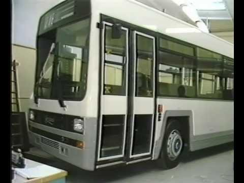 Leyland Bus Training Video - Lynx Body - Repair & Maintenance