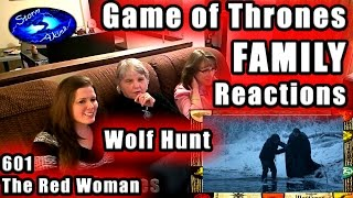Game of Thrones FAMILY Reactions 601 | Wolf Hunt