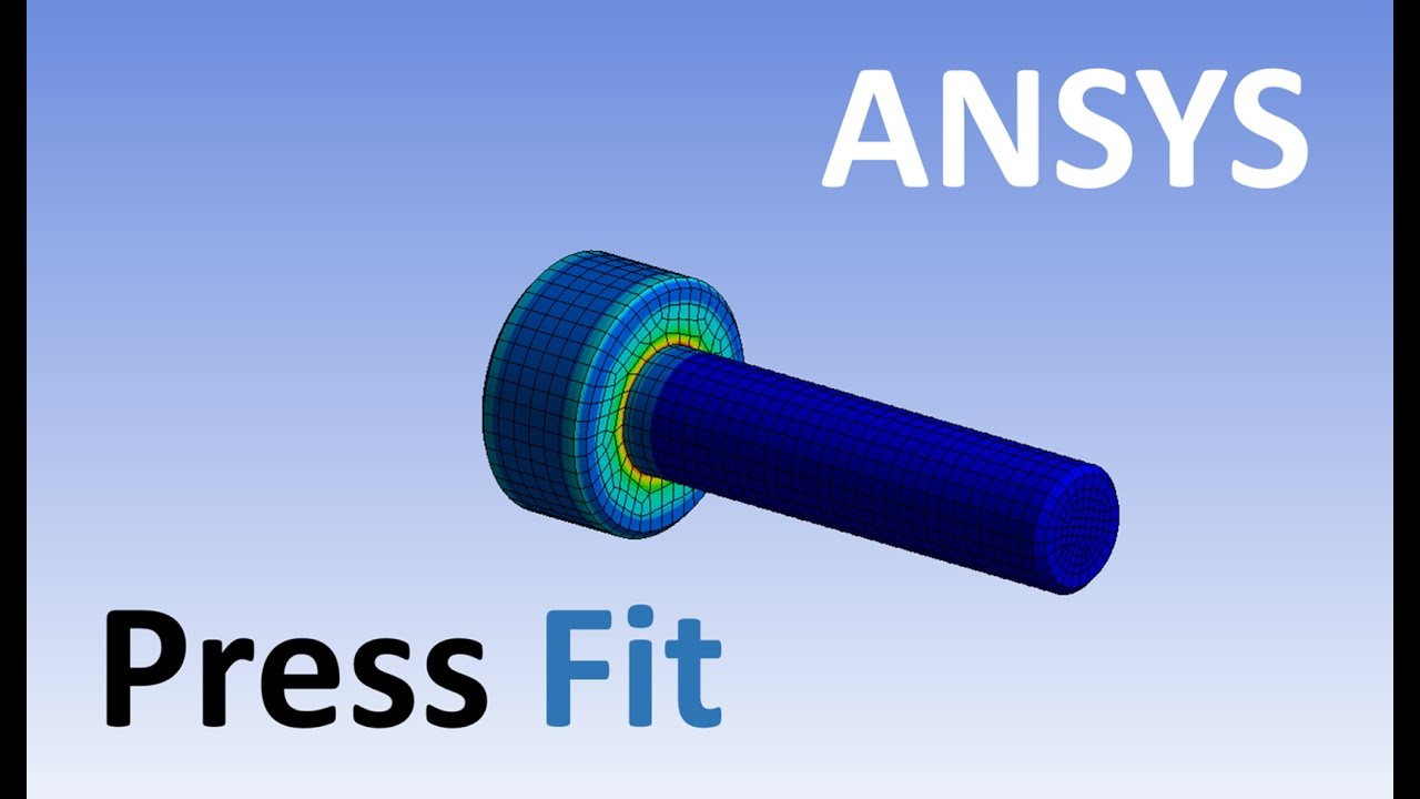 Ansys | Static Structural | How To Create Press Fit Analysis